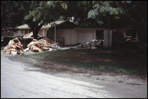 Primary view of object titled '[Flood Damaged Home in Senguin, Texas]'.