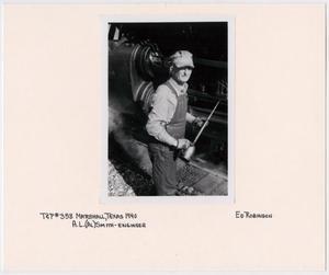T&P Train #358 Engineer