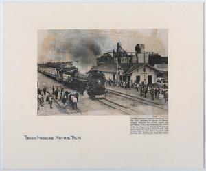 Primary view of object titled '[T&P #610 in Trains Magazine]'.