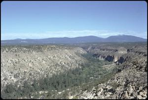 Primary view of object titled '[Bandelier National Monument and Frijoles Canyon]'.