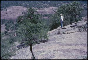 Primary view of object titled '[Backside of Enchanted Rock]'.