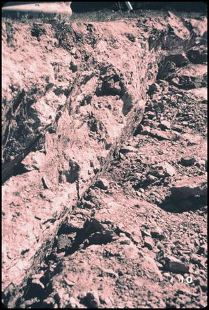 Primary view of object titled '[Fault Scarp at Lopez Canyon]'.