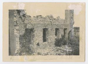 [Photograph of Thomas Arnold School Ruins]