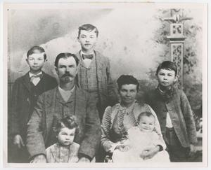[Photograph of the Sam Houston Barton Family]