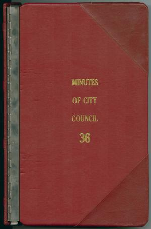 [Abilene City Council Minutes: 1995]