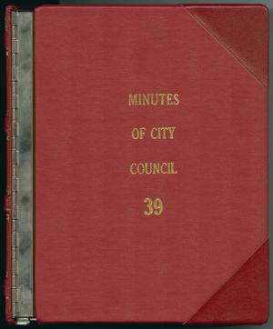 [Abilene City Council Minutes: 1998]