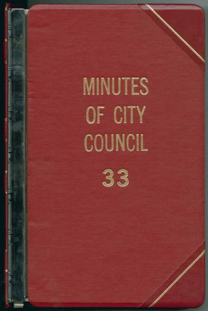 [Abilene City Council Minutes: 1992]