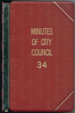[Abilene City Council Minutes: 1993]