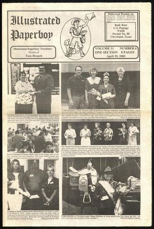 Primary view of Illustrated Paperboy (Cleveland, Tex.), Vol. 11, No. 6, Ed. 1 Wednesday, April 30, 2003
