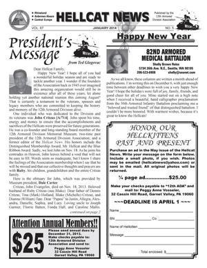 Hellcat News (Garnet Valley, Pa.), Vol. 67, No. 5, Ed. 1 Wednesday, January 1, 2014