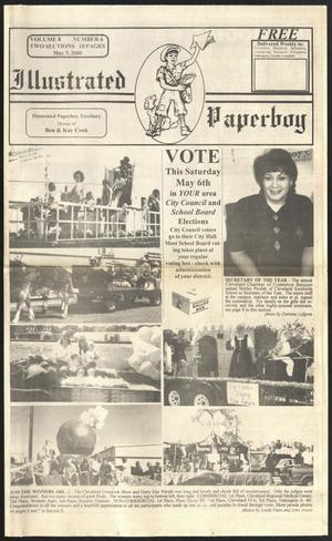 Primary view of Illustrated Paperboy (Cleveland, Tex.), Vol. 8, No. 6, Ed. 1 Wednesday, May 3, 2000