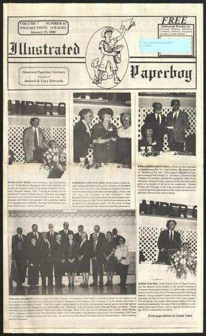 Primary view of Illustrated Paperboy (Cleveland, Tex.), Vol. 7, No. 43, Ed. 1 Wednesday, January 19, 2000