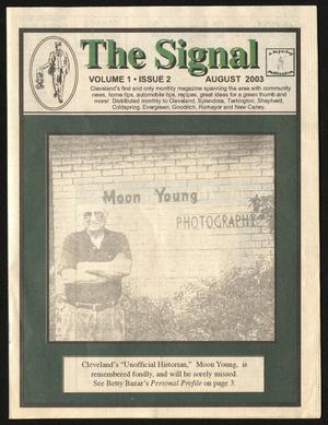 Primary view of The Signal (Cleveland, Tex.), Vol. 1, No. 3, Ed. 1 Monday, September 1, 2003