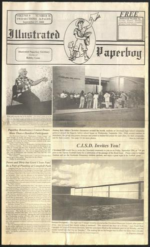 Primary view of Illustrated Paperboy (Cleveland, Tex.), Vol. 8, No. 26, Ed. 1 Wednesday, September 27, 2000