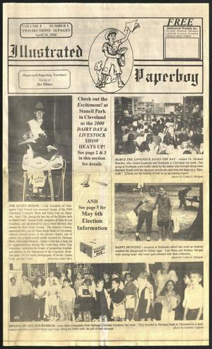 Primary view of Illustrated Paperboy (Cleveland, Tex.), Vol. 8, No. 5, Ed. 1 Wednesday, April 26, 2000