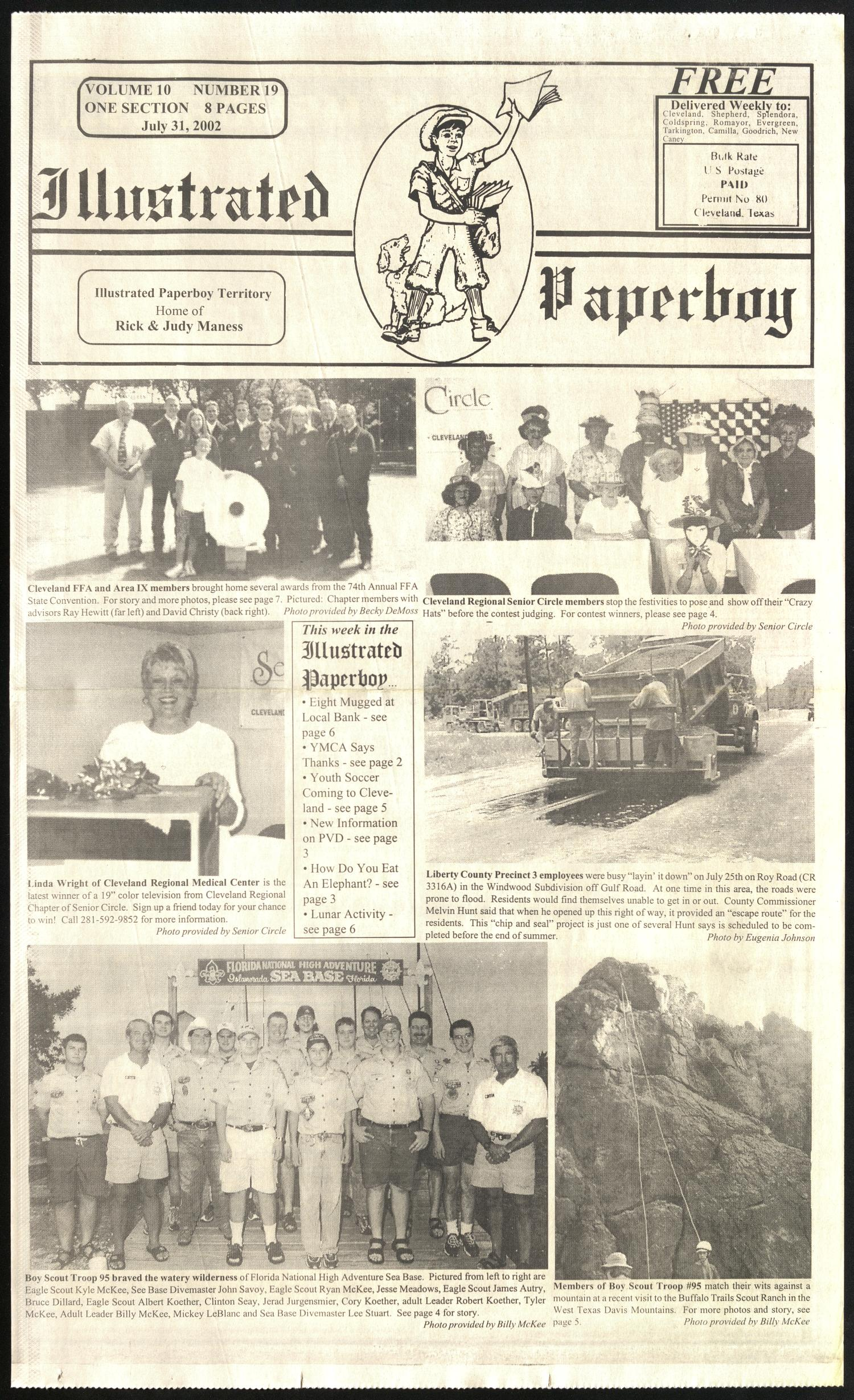 Illustrated Paperboy (Cleveland, Tex ), Vol  10, No  19, Ed