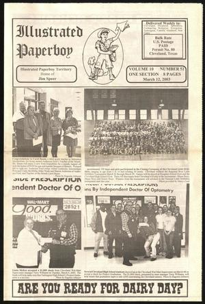 Primary view of Illustrated Paperboy (Cleveland, Tex.), Vol. 10, No. 51, Ed. 1 Wednesday, March 12, 2003