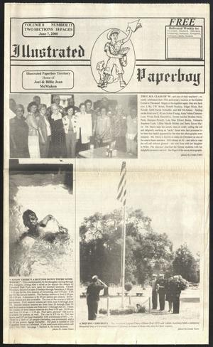 Primary view of Illustrated Paperboy (Cleveland, Tex.), Vol. 8, No. 11, Ed. 1 Wednesday, June 7, 2000