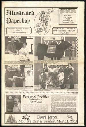 Primary view of Illustrated Paperboy (Cleveland, Tex.), Vol. 11, No. 7, Ed. 1 Wednesday, May 7, 2003