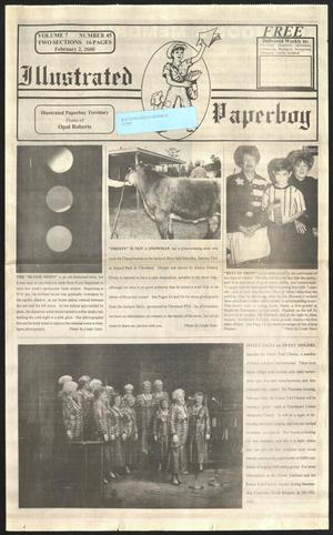 Primary view of Illustrated Paperboy (Cleveland, Tex.), Vol. 7, No. 45, Ed. 1 Wednesday, February 2, 2000