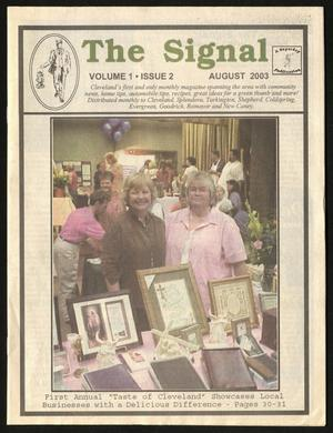 Primary view of The Signal (Cleveland, Tex.), Vol. 1, No. 2, Ed. 1 Friday, August 1, 2003