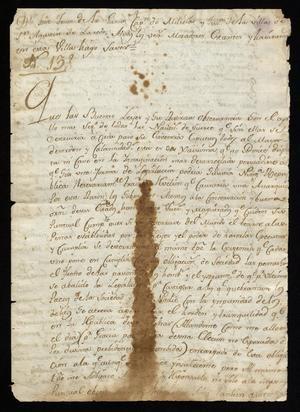 Primary view of [Decrees Republished by José de Jesús de la Garza]