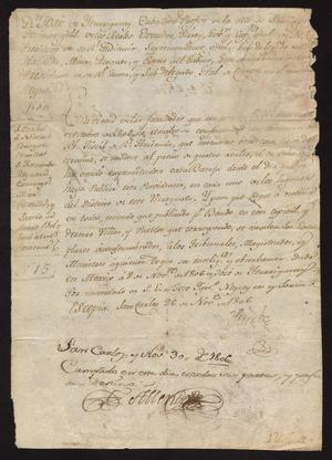 Primary view of [Message from Viceroy José de Yturrigaray]