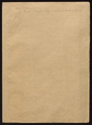 Primary view of [Decree from Tomás Sánchez]