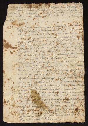 Primary view of [Decrees from Governor Melchor Vidal de Larca y Villena]