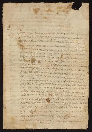 Primary view of [Correspondence Between Rosa María Sánchez and Tomás Sánchez]