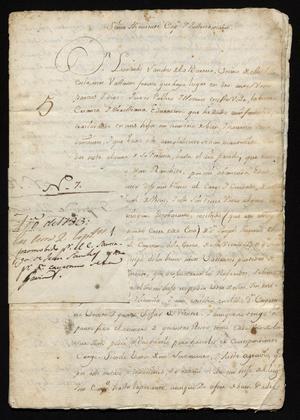 Primary view of [Message from Leonardo Sánchez de la Barrera]