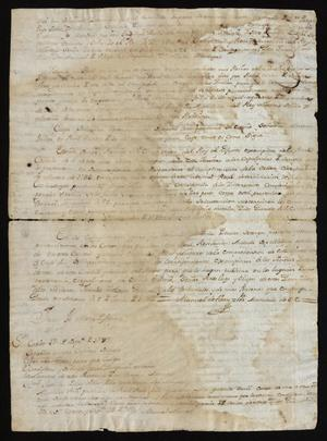 Decree Concerning Jesuits from the Viceroy