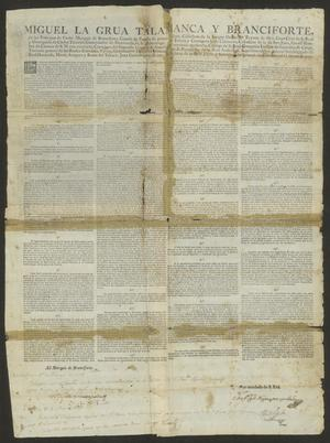 Primary view of [Compilation of Laws from the Viceroy]