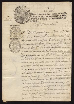 Primary view of [Correspondence between José Cadena and José Ramón Díaz de Bustamente]