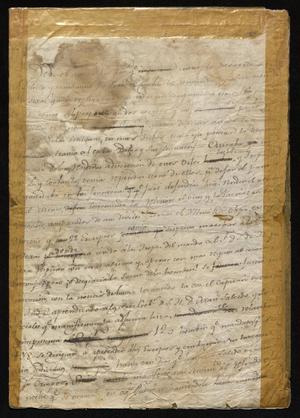 Primary view of [Message from a Military Commander to Manuel de Iturbe]