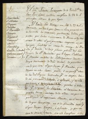 Primary view of [Rules from Manuel de Iturbe]