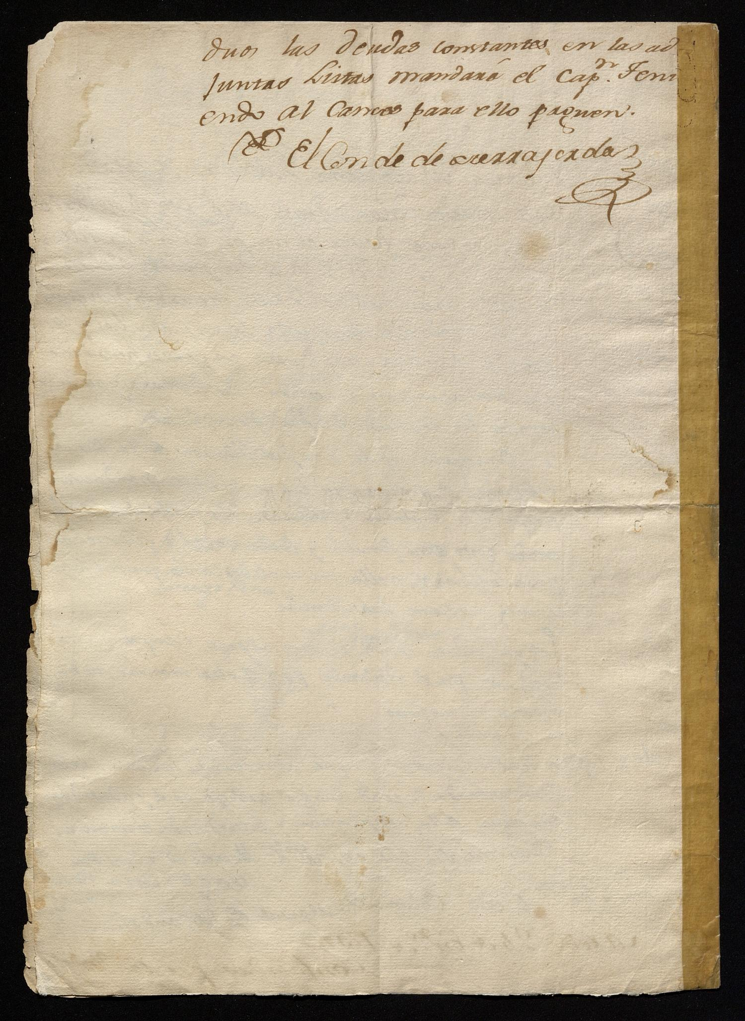 [Letter from Maria Magdalena Gutierrez to Manuel de Escandón, January 24, 1797]                                                                                                      [Sequence #]: 4 of 4