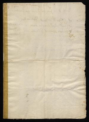 Primary view of [Letter from Maria Magdalena Gutierrez to Manuel de Escandón, January 24, 1797]
