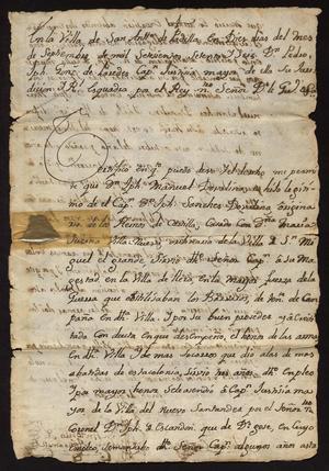 Primary view of [Affidavits for Joseph Manuel Dovalina]