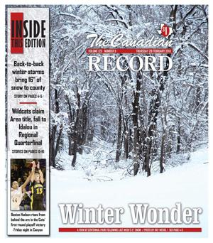 The Canadian Record (Canadian, Tex.), Vol. 123, No. 9, Ed. 1 Thursday, February 28, 2013