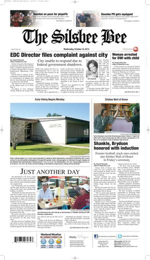 The Silsbee Bee (Silsbee, Tex.), Vol. 97, No. 42, Ed. 1 Wednesday, October 16, 2013
