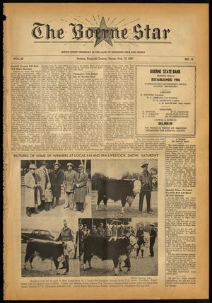 Primary view of object titled 'The Boerne Star (Boerne, Tex.), Vol. 42, No. 10, Ed. 1 Thursday, February 13, 1947'.