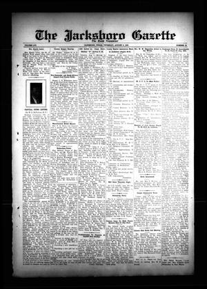 The Jacksboro Gazette (Jacksboro, Tex.), Vol. 56, No. 10, Ed. 1 Thursday, August 8, 1935
