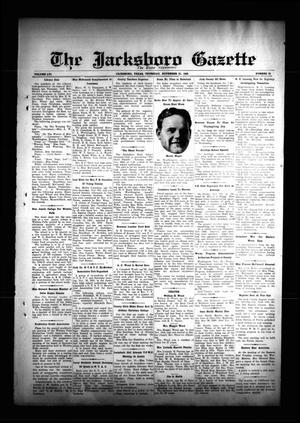 The Jacksboro Gazette (Jacksboro, Tex.), Vol. 56, No. 25, Ed. 1 Thursday, November 21, 1935