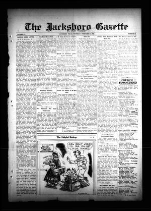The Jacksboro Gazette (Jacksboro, Tex.), Vol. 55, No. 38, Ed. 1 Thursday, February 21, 1935