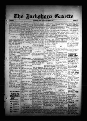 The Jacksboro Gazette (Jacksboro, Tex.), Vol. 55, No. 23, Ed. 1 Thursday, November 8, 1934