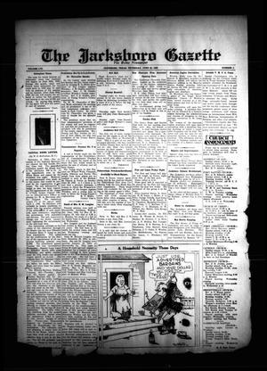 The Jacksboro Gazette (Jacksboro, Tex.), Vol. 56, No. 3, Ed. 1 Thursday, June 20, 1935