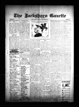 Primary view of object titled 'The Jacksboro Gazette (Jacksboro, Tex.), Vol. 54, No. 42, Ed. 1 Thursday, March 15, 1934'.