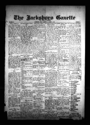 Primary view of object titled 'The Jacksboro Gazette (Jacksboro, Tex.), Vol. 55, No. 9, Ed. 1 Thursday, August 2, 1934'.