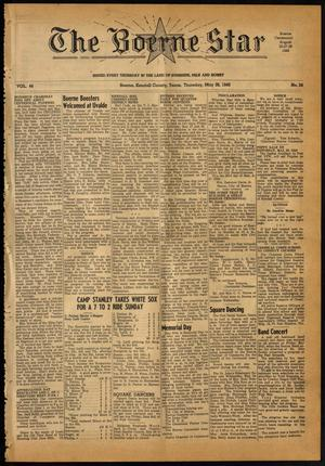Primary view of object titled 'The Boerne Star (Boerne, Tex.), Vol. 44, No. 24, Ed. 1 Thursday, May 26, 1949'.